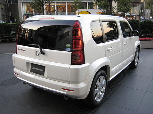 2007 Honda Crossroad rear view