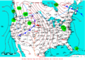 2008-04-30 Surface Weather Map NOAA.png