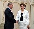 2008-06-20 Владимир Путин, Зинаида Гречаный (1).jpeg