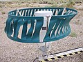 2008-07-20 Tonopah Airport ASOS heated tipping bucket in Tonopah, Nevada.jpg