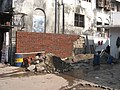2008 Mumbai terror attacks wall damaged in petrol pump.jpg
