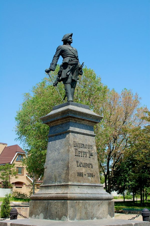 Peter I Monument in Taganrog