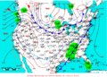 2009-02-02 Surface Weather Map NOAA.png