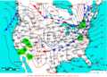 2009-02-08 Surface Weather Map NOAA.png