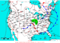 2009-07-04 Surface Weather Map NOAA.png
