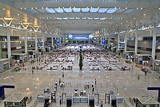 Shanghai Hongqiao Railway Station - Waiting hall