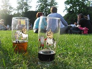 Cambridge Beer Festival - Commemorative glasses from the 2010 Cambridge Beer Festival