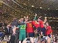 2010 World Cup Spain with cup.JPG