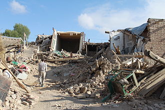 2012 East Azerbaijan earthquakes - Many villages were completely destroyed