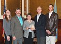 2012 Leopold Award- Kopriva Family and Governor Daugaard (6960499352).jpg