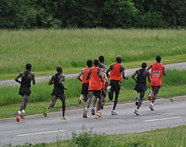 2012 Ottawa Marathon lead group.jpg