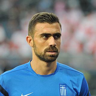 Giannis Maniatis Greek footballer