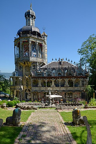 Bruno Weber Park - The villa of the Bruno Weber Park, home of Bruno Weber