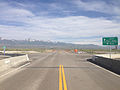 2014-06-10 16 29 02 View east from the Interstate 80 Exit 333 overpass along Nevada State Route 230 (Starr Valley Road) in Deeth, Nevada.JPG