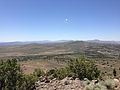 "2014-06-13 12 33 09 View southwest from the summit of ""E"" Mountain in the Elko Hills of Nevada.JPG"