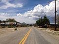 2014-07-30 13 34 45 View west along Main Street in Manhattan, Nevada.JPG