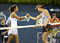 2014 US Open (Tennis) - Qualifying Rounds - Misa Eguchi and Cagla Buyukakcay (14872912019).jpg