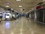 2015-04-14 00 26 30 View toward the inner end of Concourse D at Salt Lake City International Airport, Utah.jpg