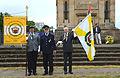 2015-06-20 200 Jahre Schlacht bei Waterloo, Welfenbund, The Royal British Legion, Hannover, Waterloosäule, (50).JPG
