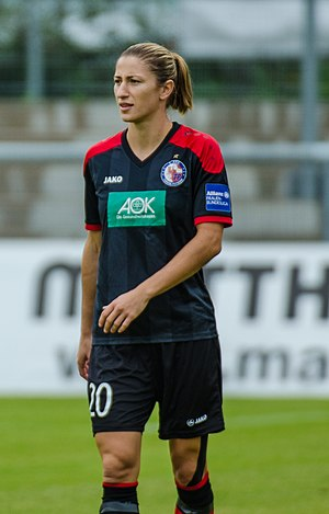Bianca Schmidt - Schmidt playing for Potsdam in 2015
