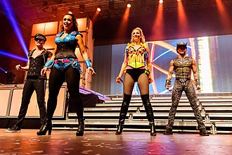 Vengaboys - The Vengaboys on stage in 2015