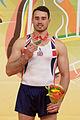 2015 European Artistic Gymnastics Championships - Pommel Horse - Medalists 05.jpg