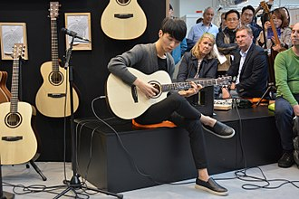 Sungha Jung - Sungha Jung at the Musikmesse Frankfurt 2016