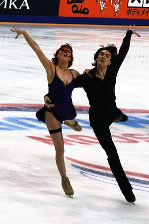 Zahorski and Guerreiro at the 2016 Rostelecom Cup 2016 Rostelecom Cup Tiffany Zahorski Jonathan Guerreiro IMG 1671.jpg