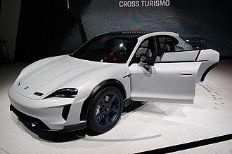 Porsche Mission E - Image: 2018 03 06 Geneva Motor Show 2280