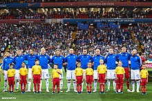5da2e095f48 Iceland national football team at the 2018 FIFA World Cup in Rostov-on-Don
