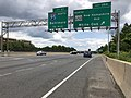 2019-05-27 12 52 56 View east along the inner loop of the Capital Beltway (Interstate 495) at Exit 28A (Maryland Route 650 North-New Hampshire Avenue, White Oak) along the edge of Hillandale and Silver Spring in Montgomery County, Maryland.jpg