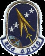 22d Air Defense Missile Squadron - ADC - Emblem