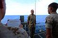 22nd MEU Marine re-enlists while fishing at sea 140504-M-WB921-003.jpg