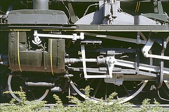 Poppet valve - Oscillating Poppet Valve on one of Chapelon's rebuilt 4-6-2 locomotives.