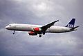 238bt - Scandinavian Airlines Airbus A321-232, OY-KBF@LHR,24.05.2003 - Flickr - Aero Icarus.jpg