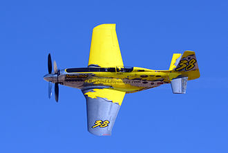 North American P-51 Mustang variants - Precious Metal, a modified P-51 air racer, 2014