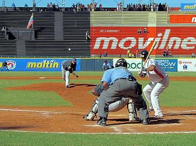 Aguilas del Zulia vs Leones del Caracas, Maracaibo, Venezuela 21-12-2011
