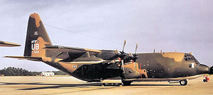 921st Tactical Airlift Group - Image: 304th Tactical Airlift Squadron Lockheed C 130A 55 LM Hercules 57 0522