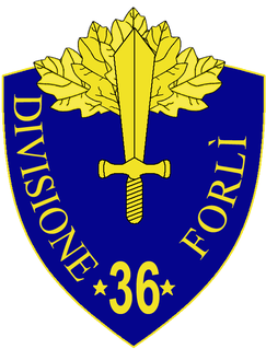 36th Infantry Division Forlì