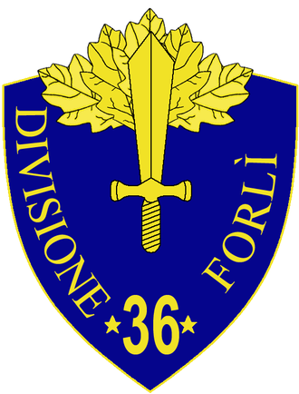 36th Infantry Division Forlì - 36th Infantry Division Forlì Insignia