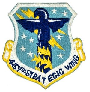 6th Air Mobility Wing - Emblem of the 4157th Strategic Wing