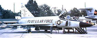 48th Flying Training Squadron - Convair F-102A-55-CO Delta Dagger 56-1017, about 1959