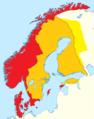 5. 1595 Norden Sverige udvider grænserne i Estland og Finland.png
