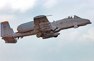 Third Air Force - A-10A 81-0976 of the 52nd Operations Group, Spangdahlem AB, Germany
