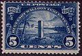 5 cent Timbre commémoratif.JPG