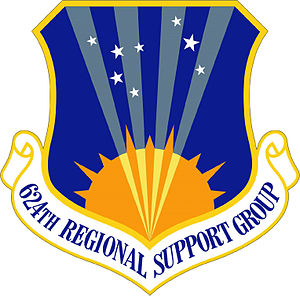 624th Regional Support Group - Image: 624th Regional Support Group emblem