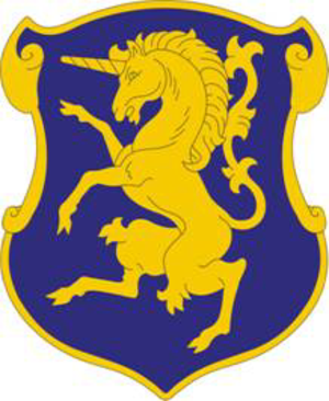 16th Combat Aviation Brigade (United States) - Image: 6Cav Regt DUI