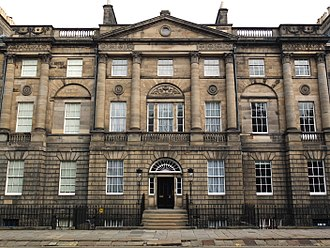 Sir Mitchell Mitchell-Thomson, 1st Baronet - Mitchell-Thomson's stunning house at 6 Charlotte Square (Bute House)