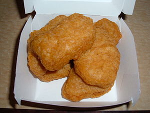 6 McDonald's chicken Mcnuggets