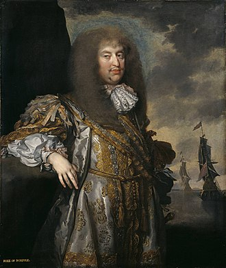 Henry Howard, 6th Duke of Norfolk - Portrait of Henry Howard by Gilbert Soest, c. 1670-1675. This portrait was once part of the Lenthall collection and is now owned by the Tate Gallery.